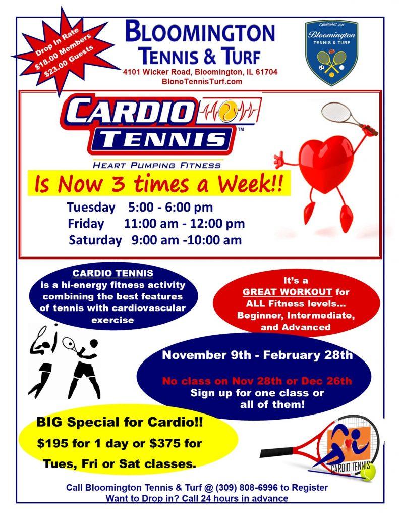 Cardio 3 times a Week Winter 2020