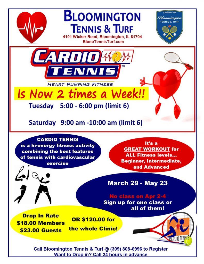 Cardio 2 times a Week Spring2021