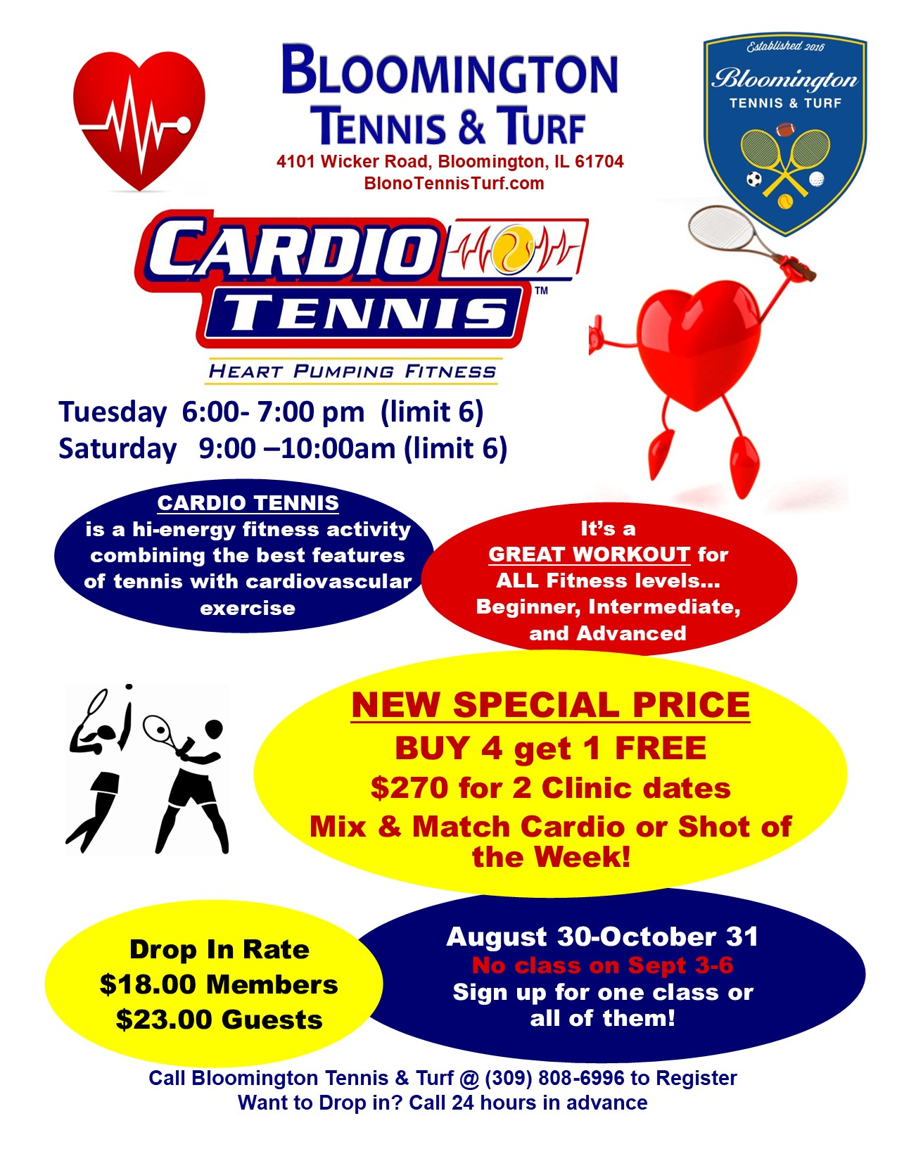 2021 Fall Cardio 2 times a Week